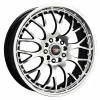 Drag Wheels - DR-19 Black Machined Face